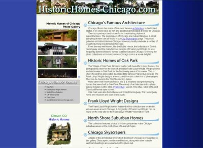 Historic Homes Chicago