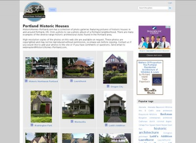 Portland Historic Houses