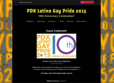 Portland Latino Gay Pride